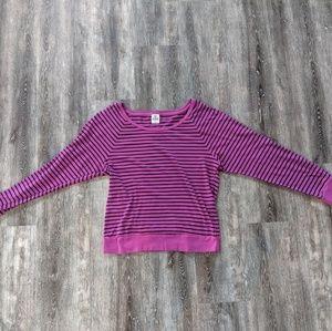 Pink Victoria Secret long sleeve top